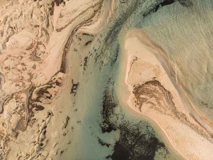 zand strand griekenland