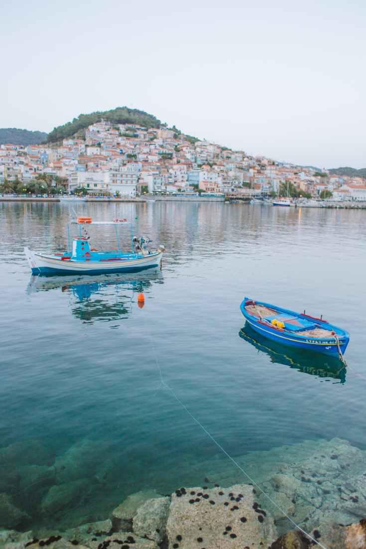 bootje varen griekenland
