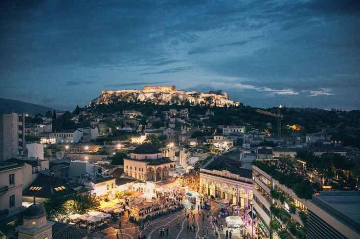 architectuur-athene-avond-europa