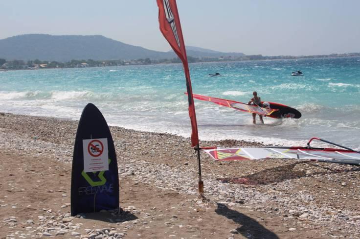windsurfing-board Ixia Rhodos