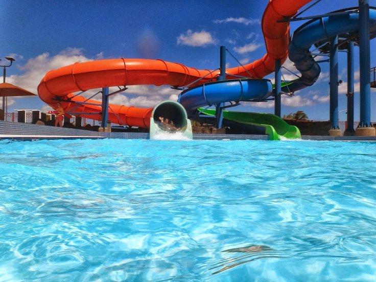 waterpark Griekenland aquapark met glijbanen 122