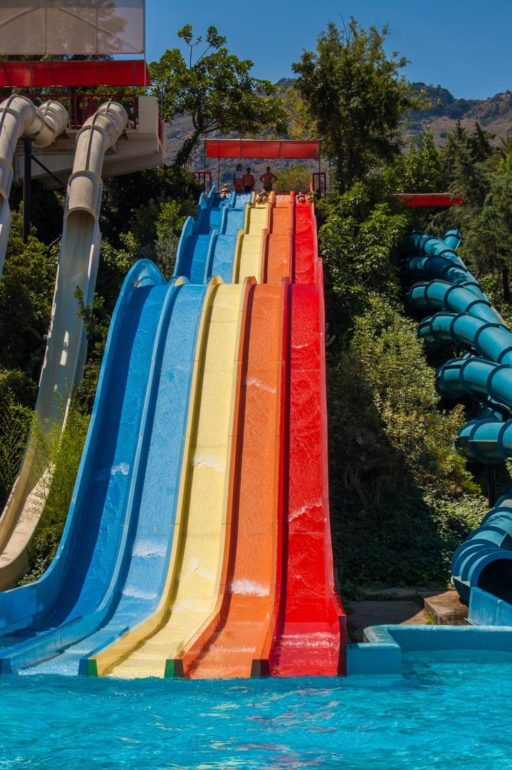 waterpark Griekenland aquapark met glijbanen 6789