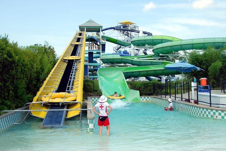 waterpark Griekenland aquapark met glijbanen 7243236 123