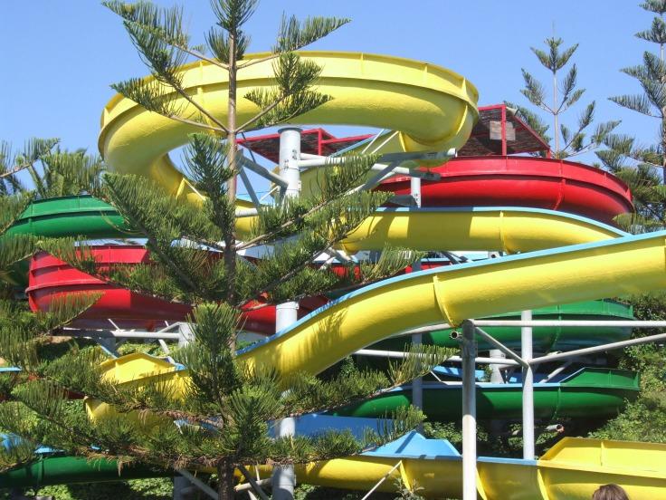 waterpark Griekenland aquapark met glijbanen 76 123